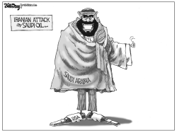 Saudi Iran Conflict by Bill Day