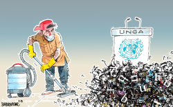 UN General Assembly speeches by Sabir Nazar