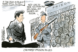 Crowded Prison Blues by Jeff Koterba