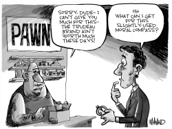 The Trudeau Brand by Dave Whamond
