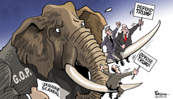 GOP dilemma by Paresh Nath