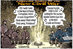 Campfire Songs of the New Civil War by Wolverton