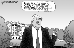 Trump and who's listening by Bruce Plante