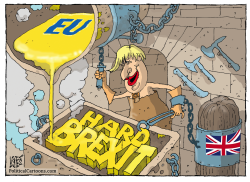 Hard Boris Brexit by Nikola Listes