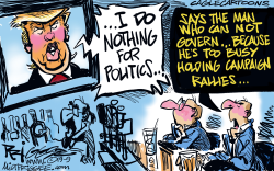 Trump Politics by Milt Priggee