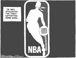NBA and China by Kevin Siers