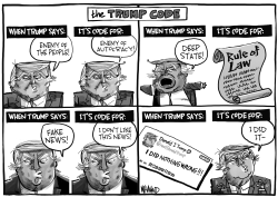 The Trump Code by Dave Whamond