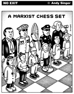 Marxist Chess Set by Andy Singer