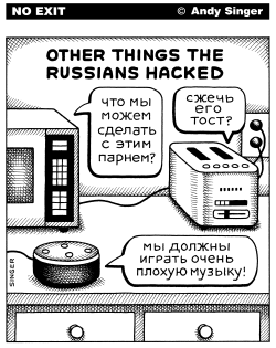 Other Things The Russians Hacked by Andy Singer