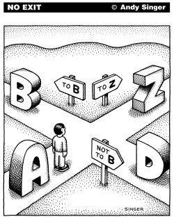 A to B by Andy Singer