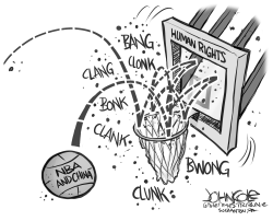 NBA and China by John Cole