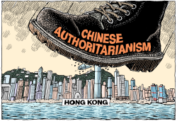 Hong Kong Repression by Wolverton