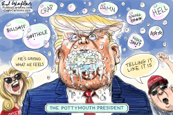 Pottymouth President by Ed Wexler