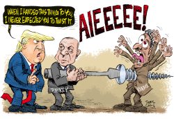 The Kurds are Screwed by Daryl Cagle