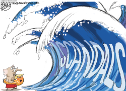 Impeachment Scandals by Pat Bagley