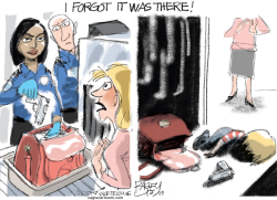 Gun Check by Pat Bagley