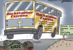 Kurds Bus by Steve Greenberg