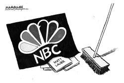 NBC and Matt Lauer by Jimmy Margulies
