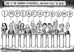 Debate Talk by Joe Heller