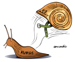 Abandoned Kurds by Arcadio Esquivel