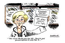 Elizabeth Warren Medicare for All by Jimmy Margulies