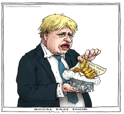royal fast food by Joep Bertrams