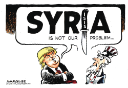 Syria is not our problem by Jimmy Margulies