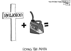 Trump Cross by Pat Bagley