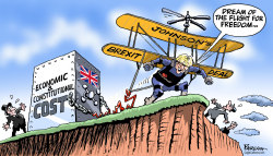 Johnson Brexit deal by Paresh Nath