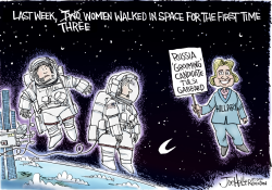 Space Walk by Joe Heller