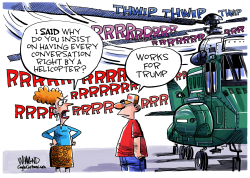 Trump Chopper Talk by Dave Whamond