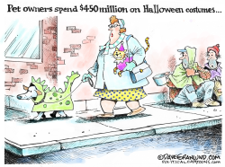 Halloween for Dogs by Dave Granlund