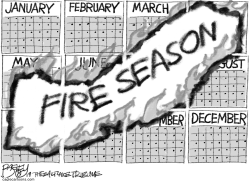 Fire Season by Pat Bagley