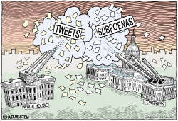 Subpoenas vs Tweets by Wolverton