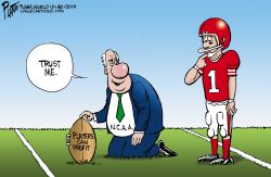 NCAA and players by Bruce Plante