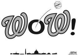 World Champion Washington Nationals by RJ Matson
