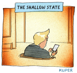 Shallow State by Peter Kuper