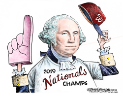 Nationals MLB champs 2019 by Dave Granlund