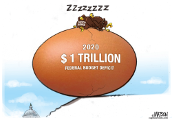 Deficit Hawks Sleep on Trillion Dollar Deficits by RJ Matson