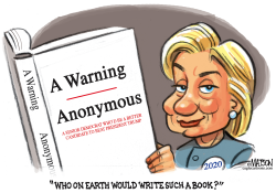 Anonymous Book By A Senior Democrat by RJ Matson