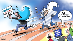 Twitter bans by Paresh Nath