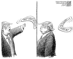 Attacking the CIA by Adam Zyglis
