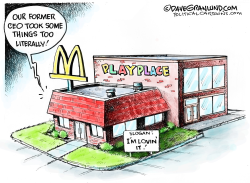 McDonald's CEO scandal by Dave Granlund