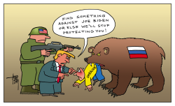 Trump and Ukraine by Arend Van Dam