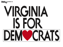 Virginia Election by Bill Day
