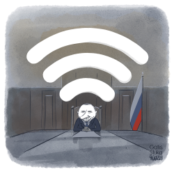 Internet in Russia by Gatis Sluka