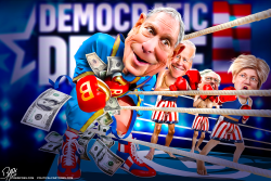 Michael Bloomberg entering the 2020 presidential race by Bart van Leeuwen