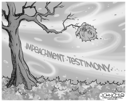 Impeachment winds blow by John Cole