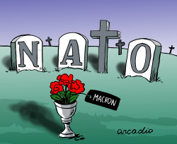 Is NATO dead? by Arcadio Esquivel