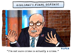 Giuliani Strategy by Peter Kuper
